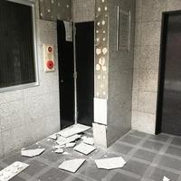 大阪地震 大東、4日で建物確認完了