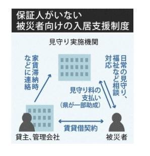 熊本県 被災者の転居支援開始