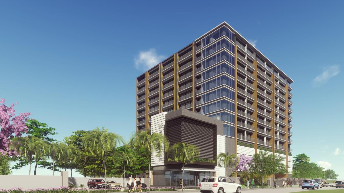 ヤンゴン市でサービスアパートメント開発