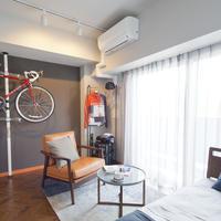 自転車愛好家向け物件竣工