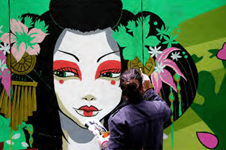 兵庫県、南海電鉄と連携しアートで地域活性化