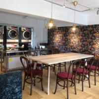 築50年の団地で家事室併設の喫茶店オープン