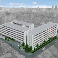 神奈川県住宅供給公社、交流スペース付き賃貸住宅建設中
