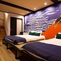 オアシス巧房、インバウンド向けに浮世絵を描いた寝室