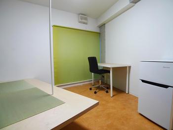 個室には布団が敷ける畳の小上がり