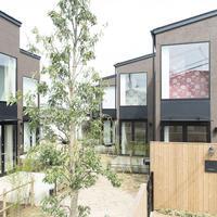 すずの木ハウス、RC造より家賃が高い畑付き木造長屋