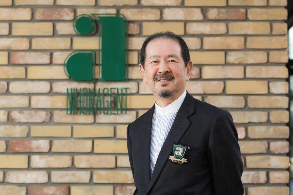 企業研究vol.051 日本エイジェント 乃万恭一 社長