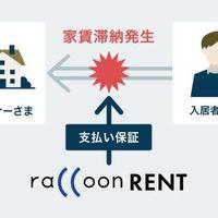ラクーンレント、公営住宅の保証業務開始