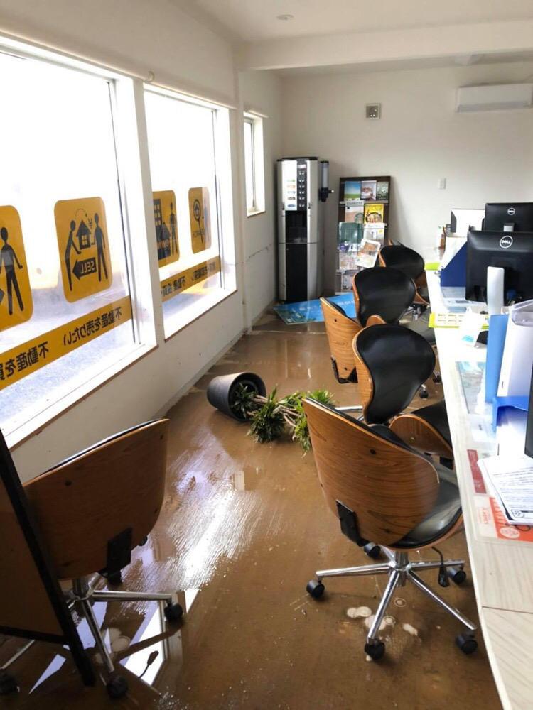 九州豪雨「2階部まで浸水」