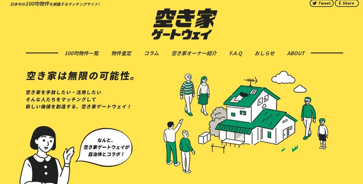 あきやカンパニー、YADOKARI 自治体向け空き家活用サービス