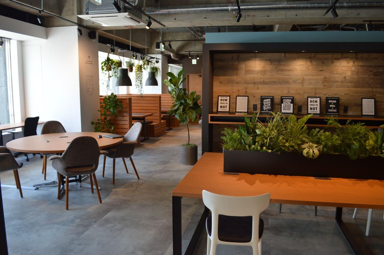 エヌアセット、シェアオフィスと本社の複合拠点