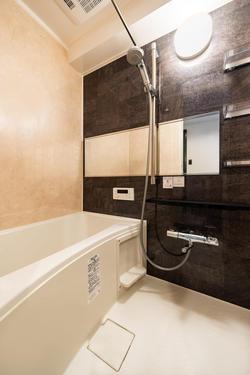 施工後の浴室の写真