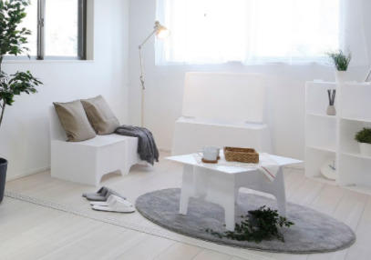 ハウジングロビー、管理会社目線のモデルルーム用家具販売