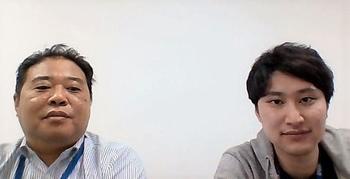 小玉勝徳さんと田村敬也さんの写真