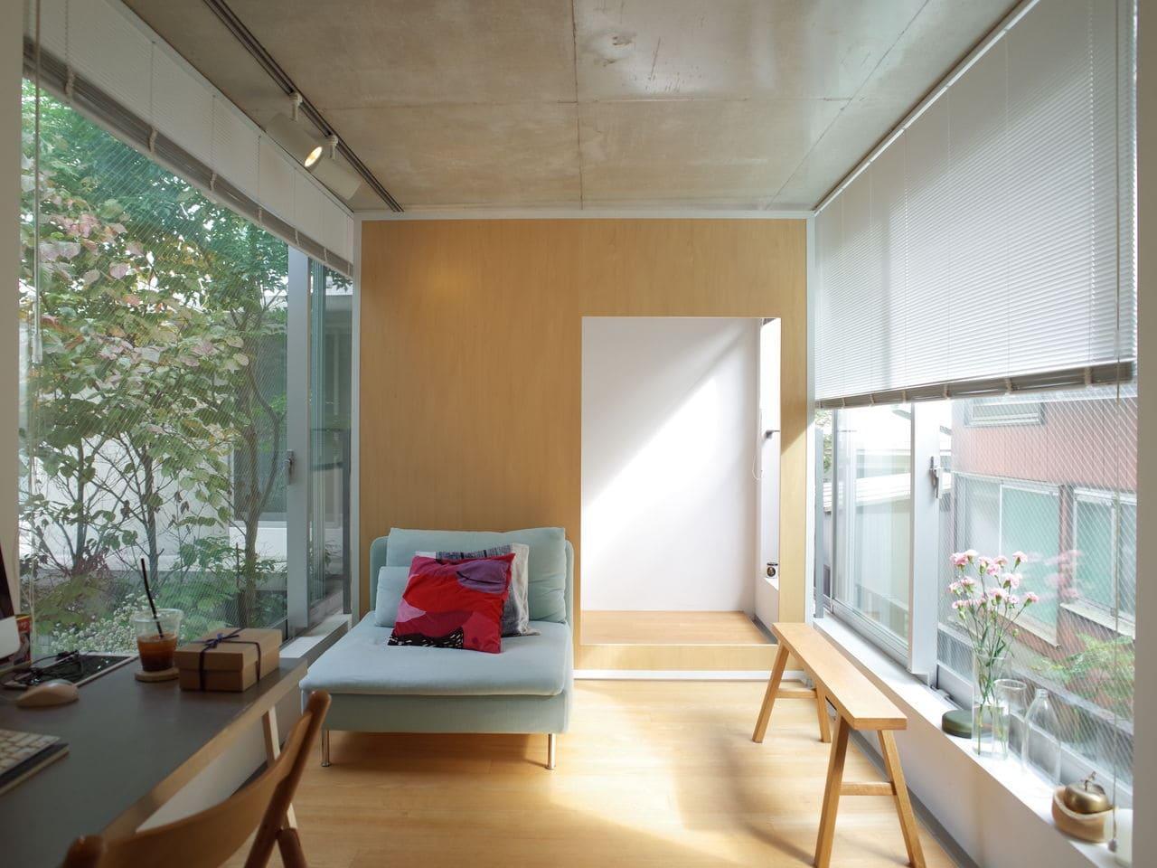 LINO、部屋を自由に仕切れる家