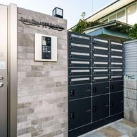 ユニソン 日生リビングシエスタ、完全防水型宅配ボックス販売