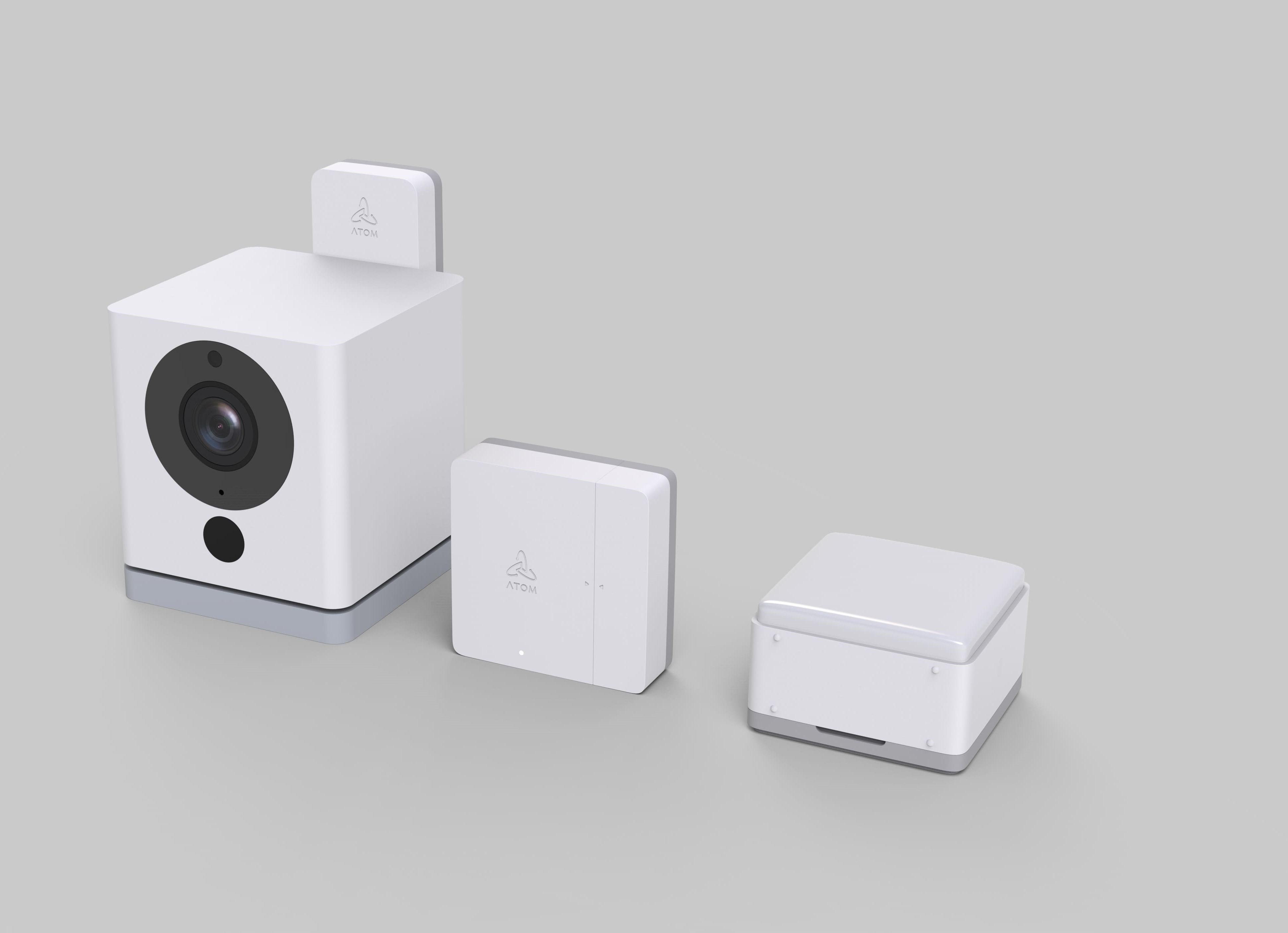 アトムテック、防犯カメラにセンサー追加