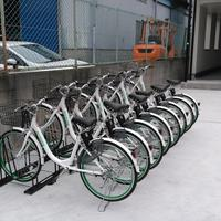 ecobike、入居者専用シェアサイクル