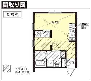 プリマガーデン辻堂 101号室の間取り図