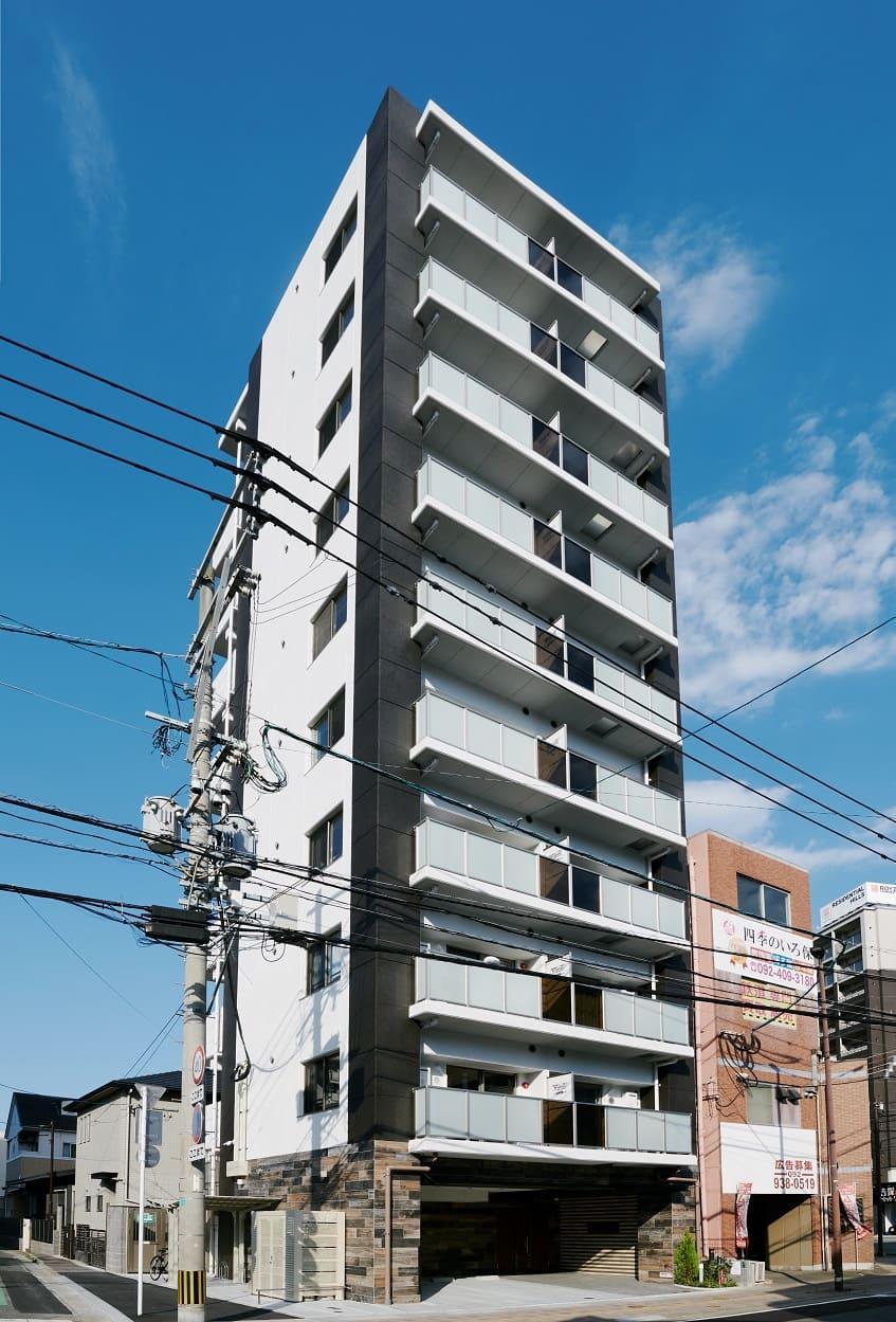 ミナトマネジメント、福岡の賃貸マンションが竣工