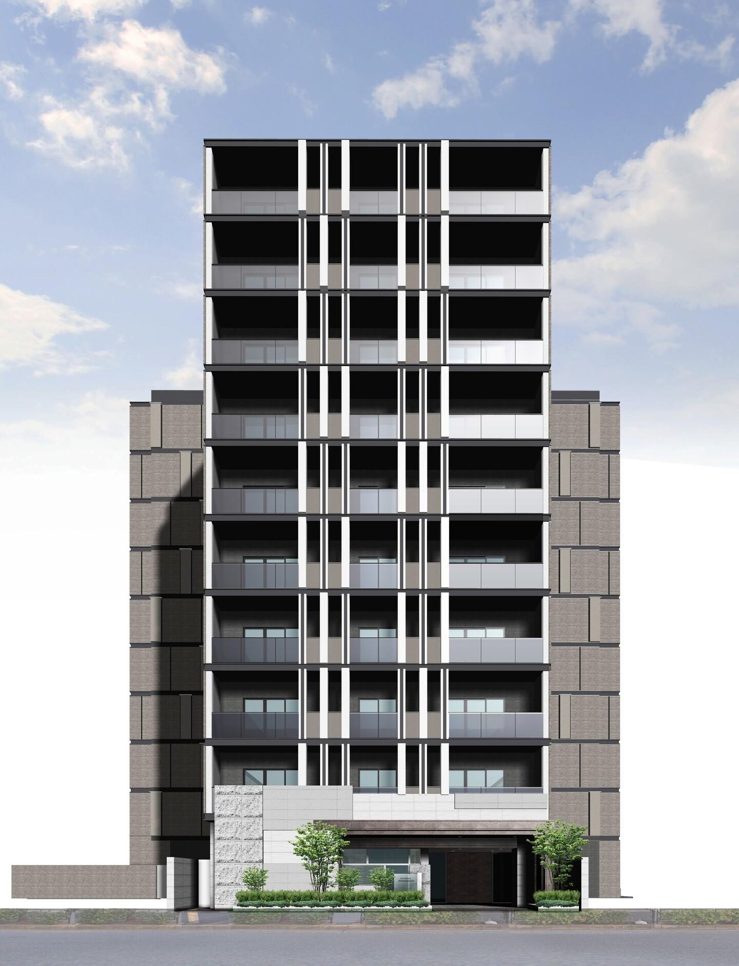 三菱地所レジデンスが初のZEH賃貸の建設に着手