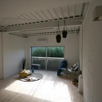 10年間空室のテラスハウスをDIY可に改修