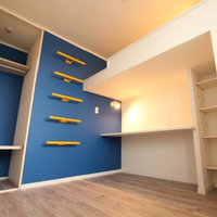 多用途なロフトが特徴の子ども部屋