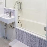 3点ユニットを開放的な浴室へ