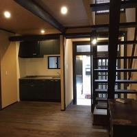 京都の町家風に改築